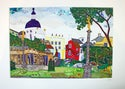 Portmeirion, A view from the Bandstand Print