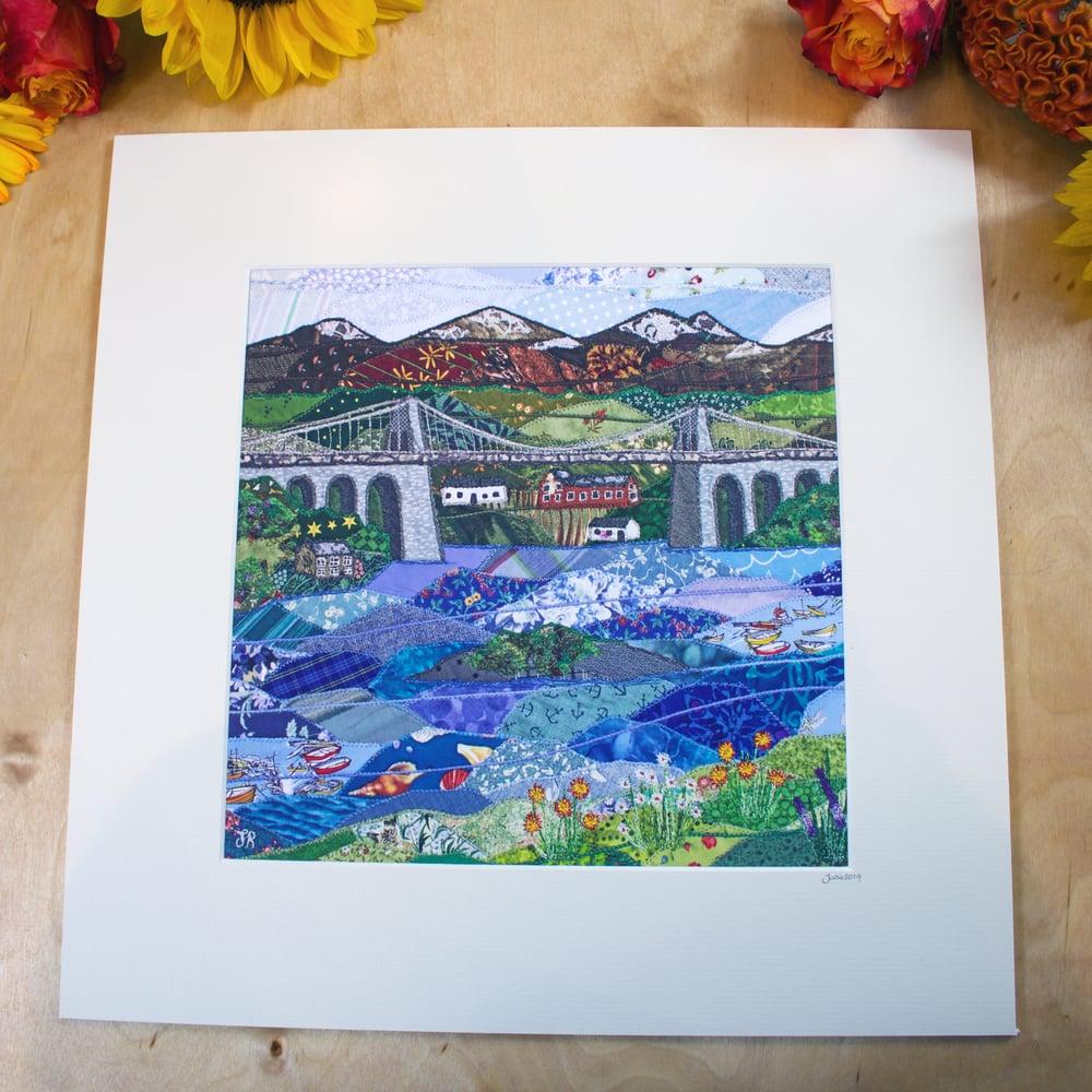 Image of Menai Strait Print