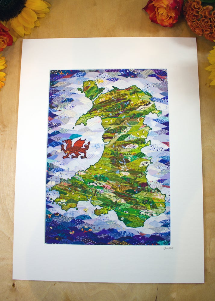 Image of Wales Print