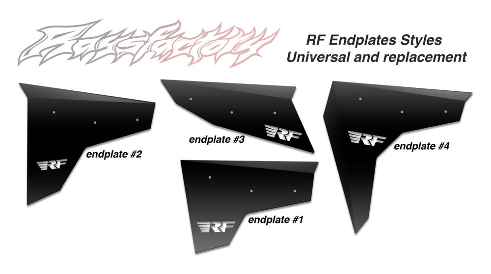 Image of Raysfactory Wing Endplates