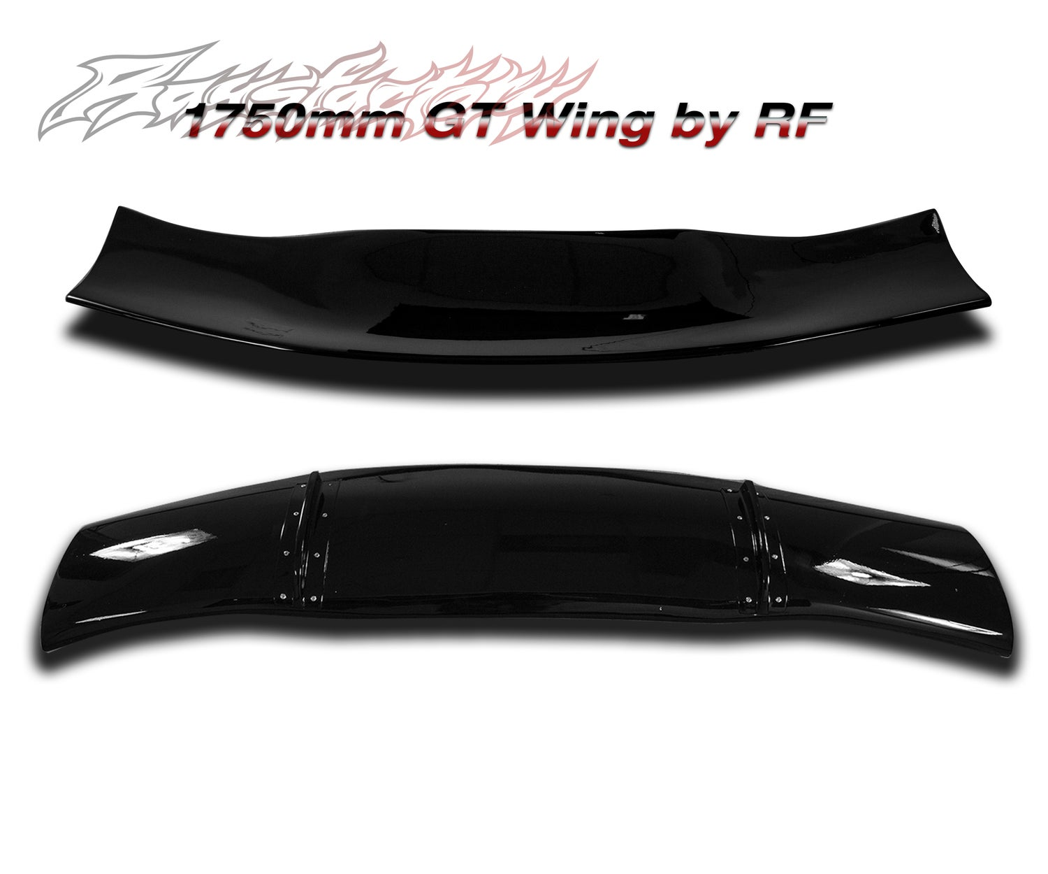 Image of Raysfactory 1750mm FRP GT Wing (Deck Only)