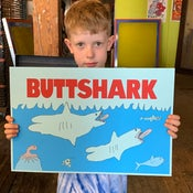 Image of BUTTSHARK to benefit RAICES