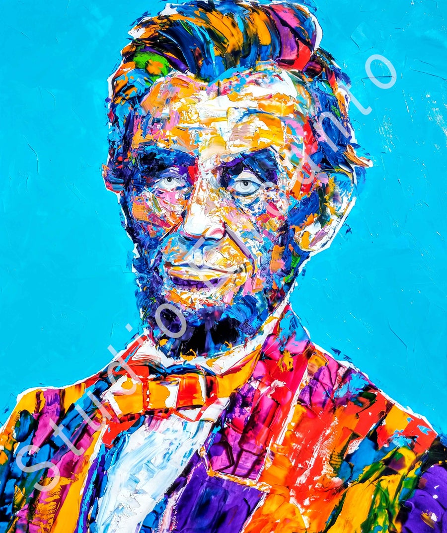 "Image of LINCOLN:  Dignity by Cathee ""Cat"" Clausen"