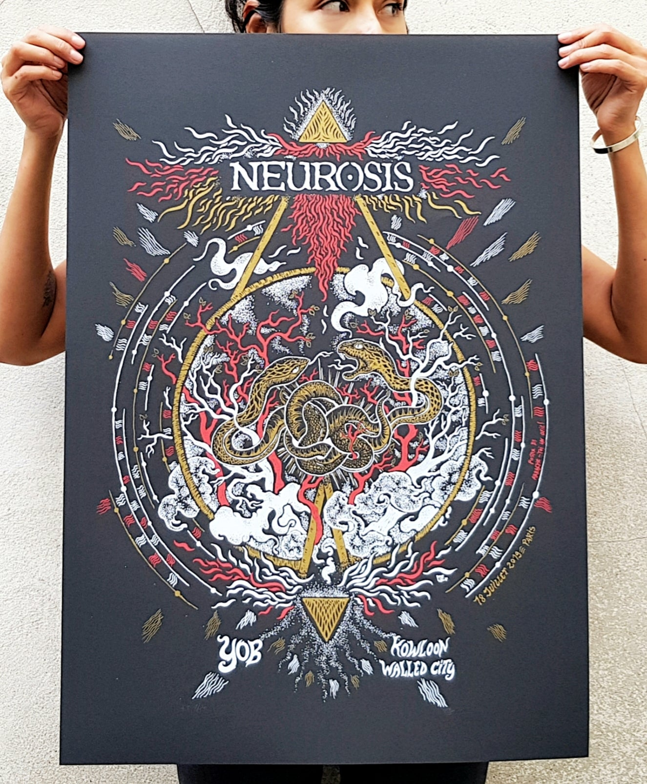 Image of NEUROSIS (gigposter Paris 2019)