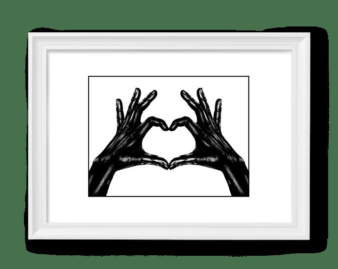 Image of Love Hand #6