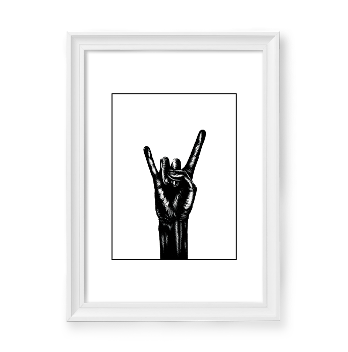 Image of Rock on! Hand #5