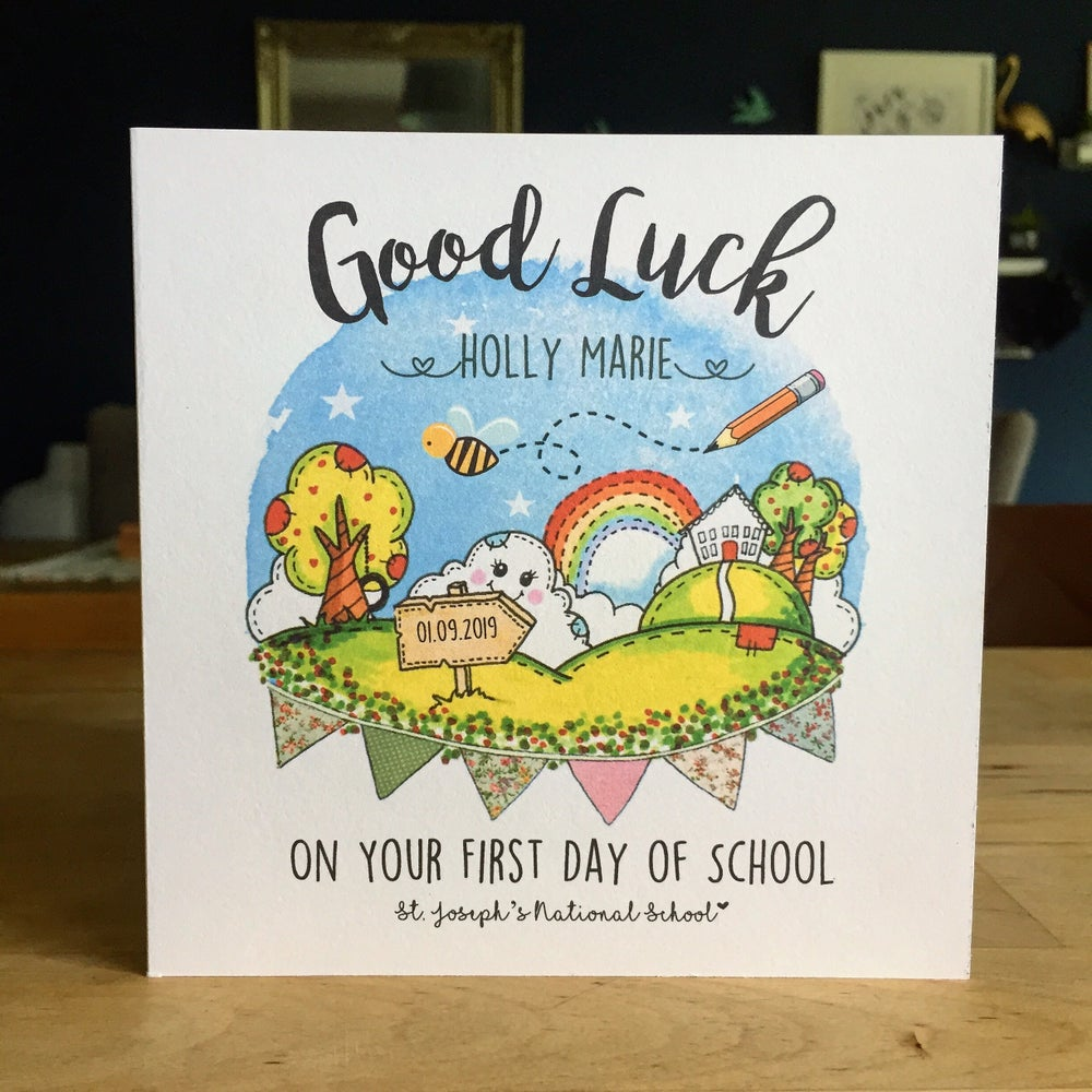 Image of First Day of School / Playschool