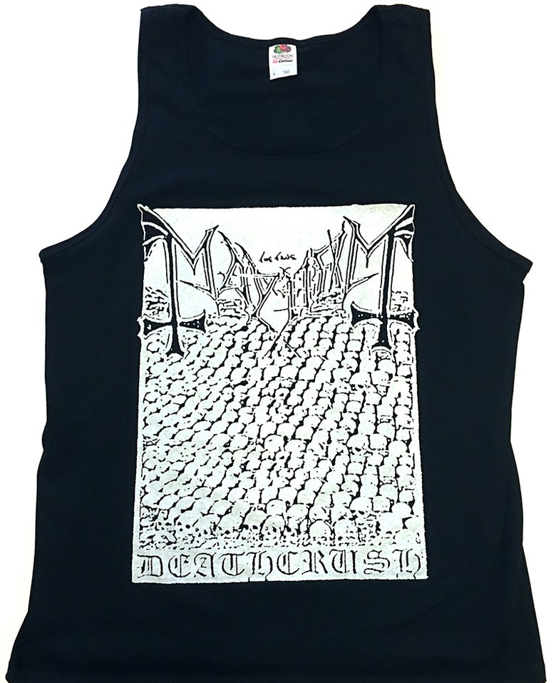 "Image of Mayhem "" Deathcrush "" Tanktop"