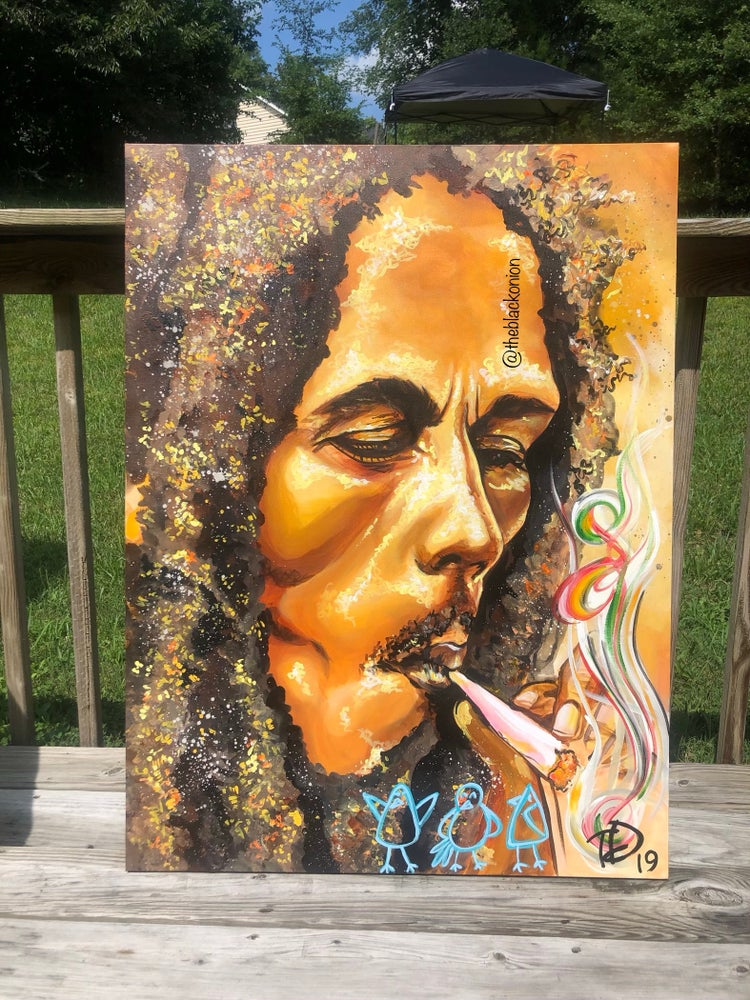 Image of MARLEY (canvas print)
