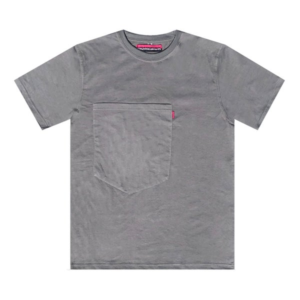 Image of Oversized Pocket Tee (Grey)