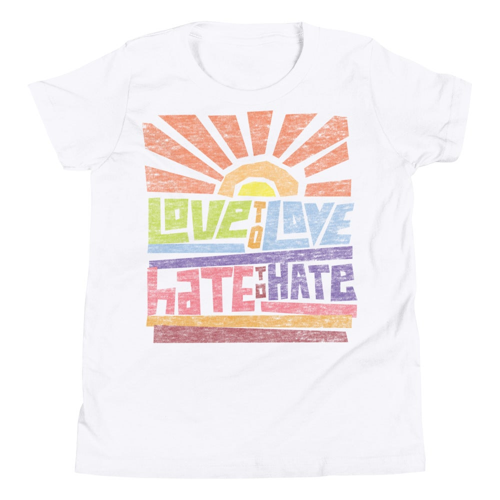 Image of Love to Love Youth T-shirt