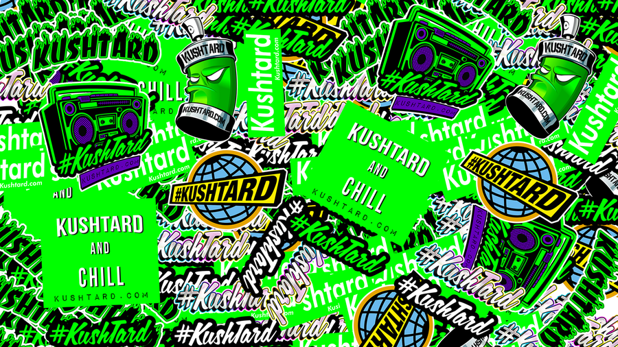 Image of Kushtard Stickers