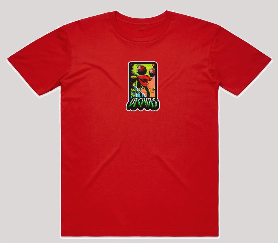 Image of The Spider Strikes Tee Red