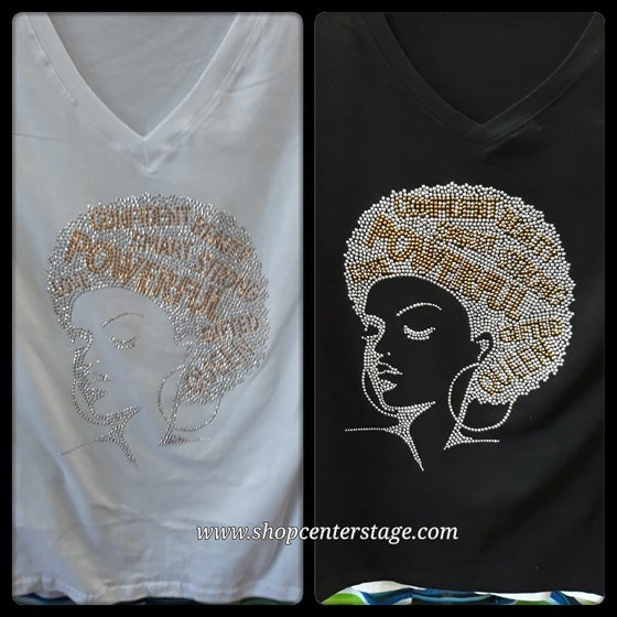 Image of Queen gold tshirt