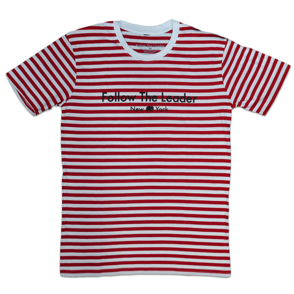 Image of Leader Tee (Striped)