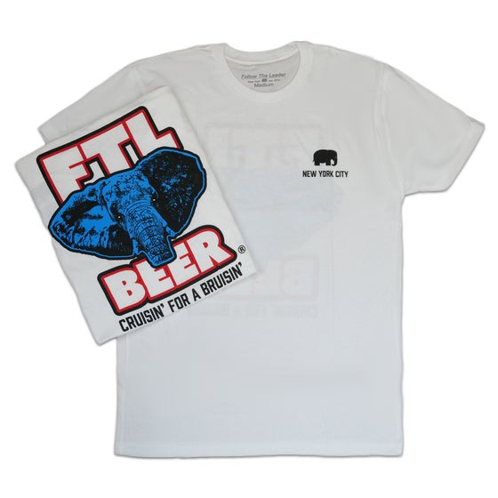 Image of FTL Brewing Co Tee (White)