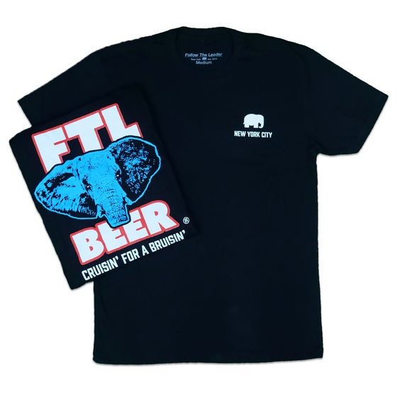 Image of FTL Brewing Co T-Shirt (Black)