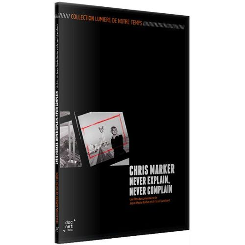 Image of CHRIS MARKER, NEVER EXPLAIN, NEVER COMPLAIN - DVD