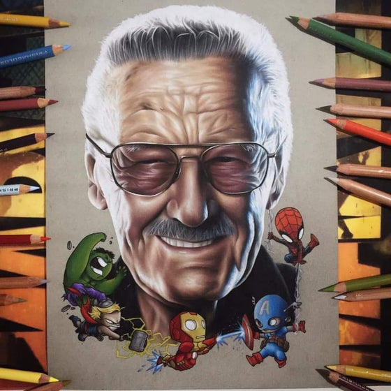 Image of Limited edition Stan Lee print