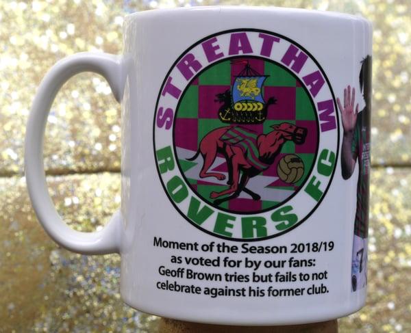 Image of Streatham Rovers FC Geoff Brown Mug