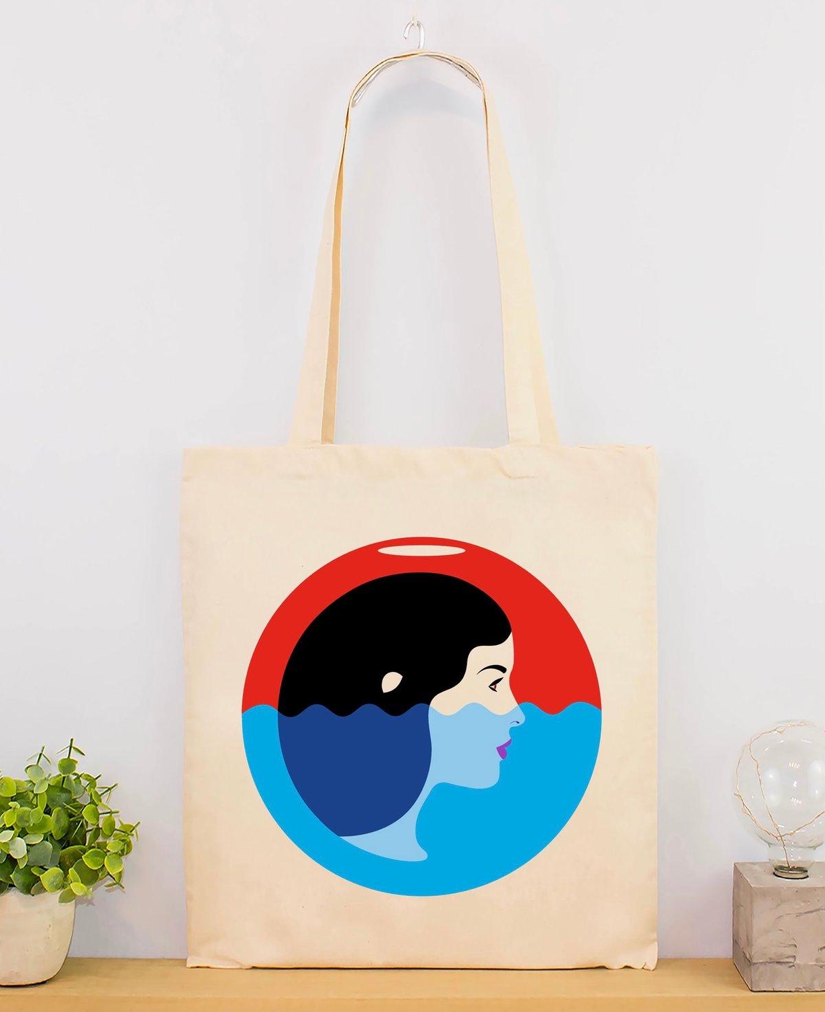 Image of Aquarius tote bag