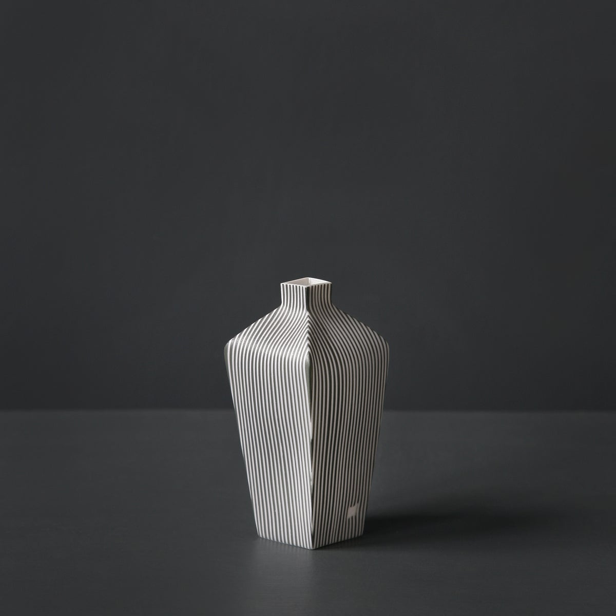 Image of Tapered Stripe Vessel #1 by Justine Allison.