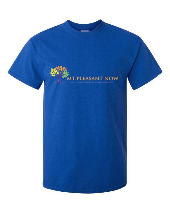 Image of Royal Blue Classic Mt Pleasant T-Shirt