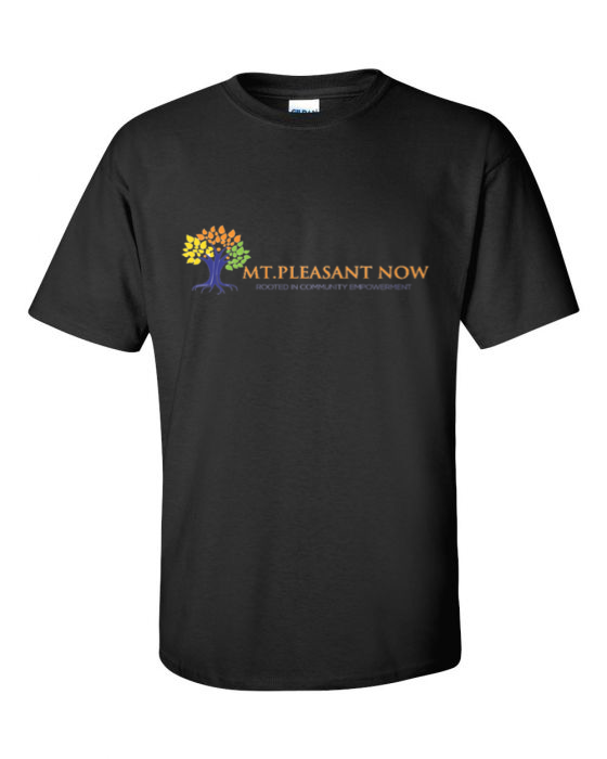 Image of Black Classic Mt. Pleasant T-Shirt