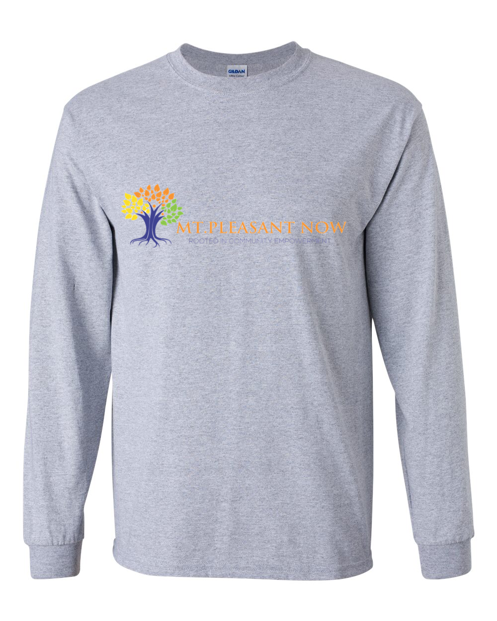 Image of Grey Classic Mt. Pleasant Long Sleeve