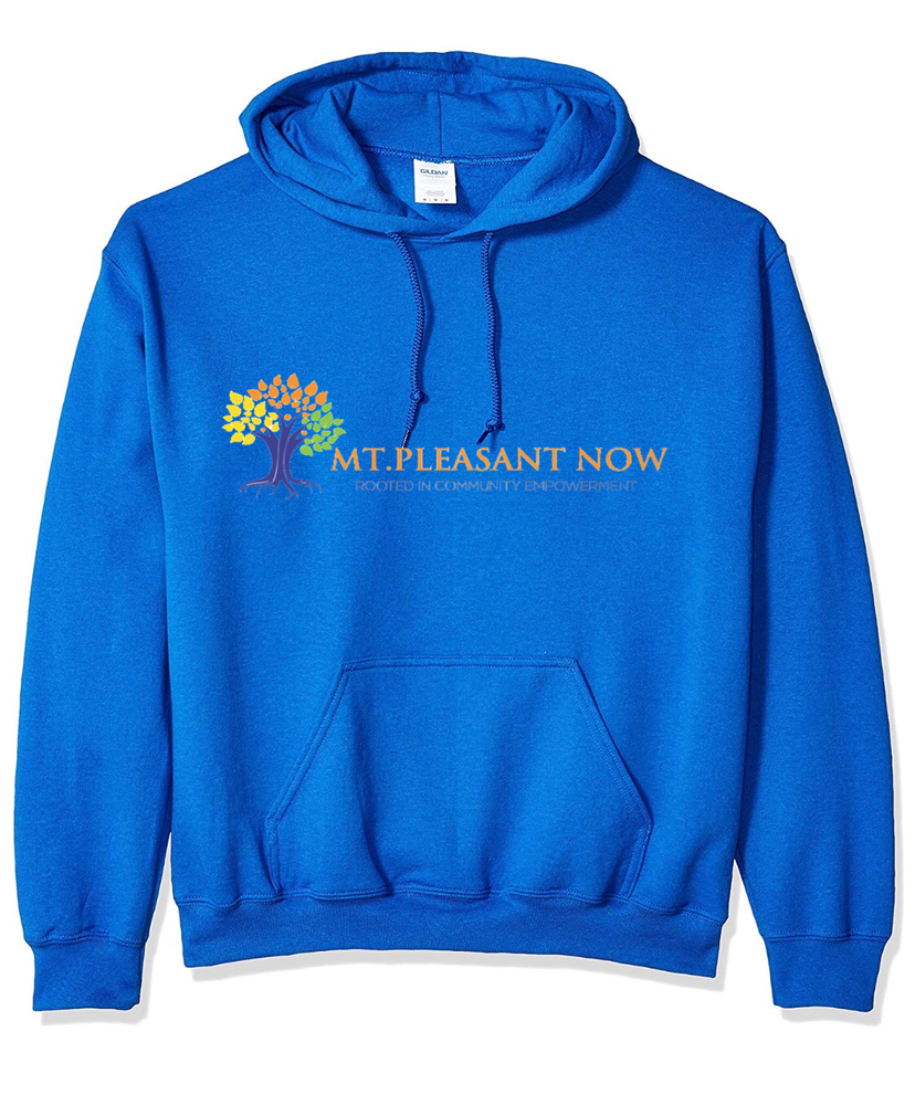 Image of Royal Blue Classic Mt. Pleasant Hoodie