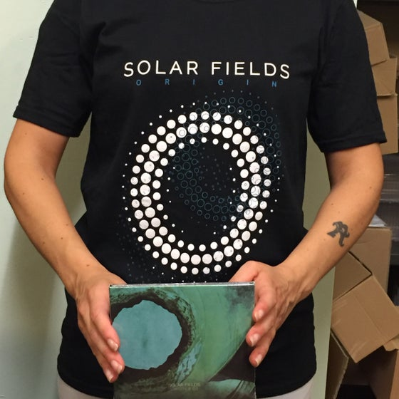 Image of Solar Fields 'Origin' T-shirt