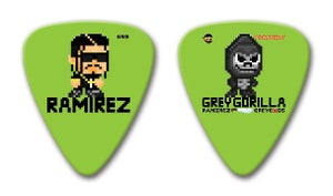 Image of Ramirez (Limited Edition) Double-Sided Kief scraper/Guitar Pick