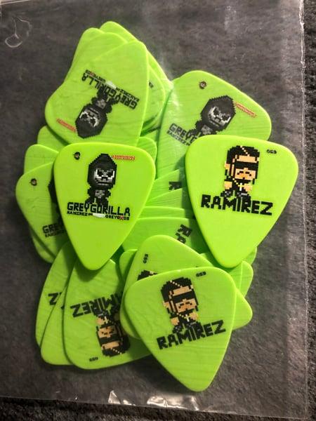 Image of Ramirez (Limited Edition) Double-sided Kief scraper/Guitar Pick