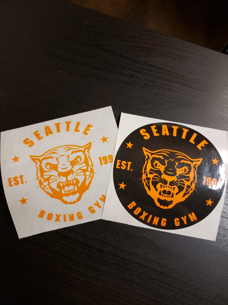 Image of Seattle Boxing Gym Stickers