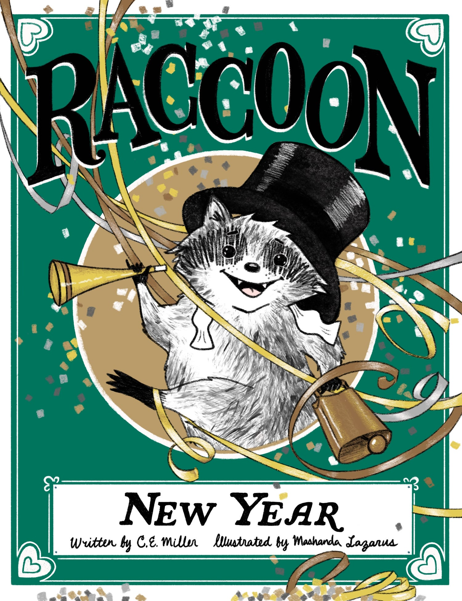 Image of Raccoon New Year