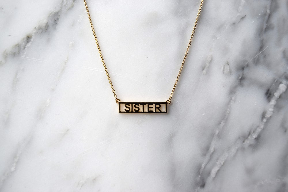 Image of Sister Necklace