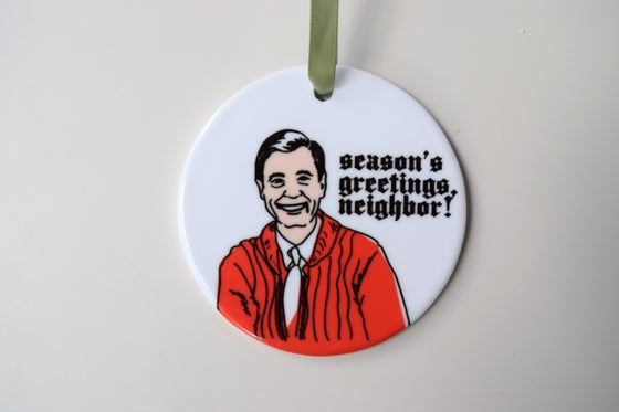 Image of Season's Greetings, Neighbor Ornament