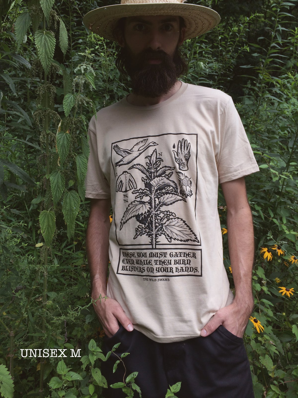 Image of METAL NETTLE [limited edition organic shirt]