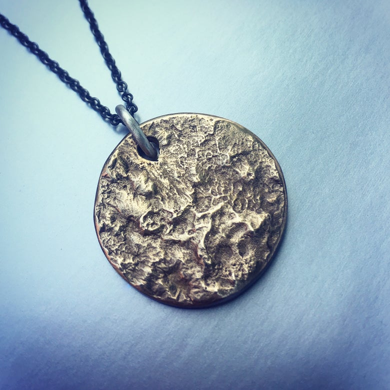 Image of supermoon necklace
