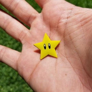 Image of Super Star 64 lapel pin