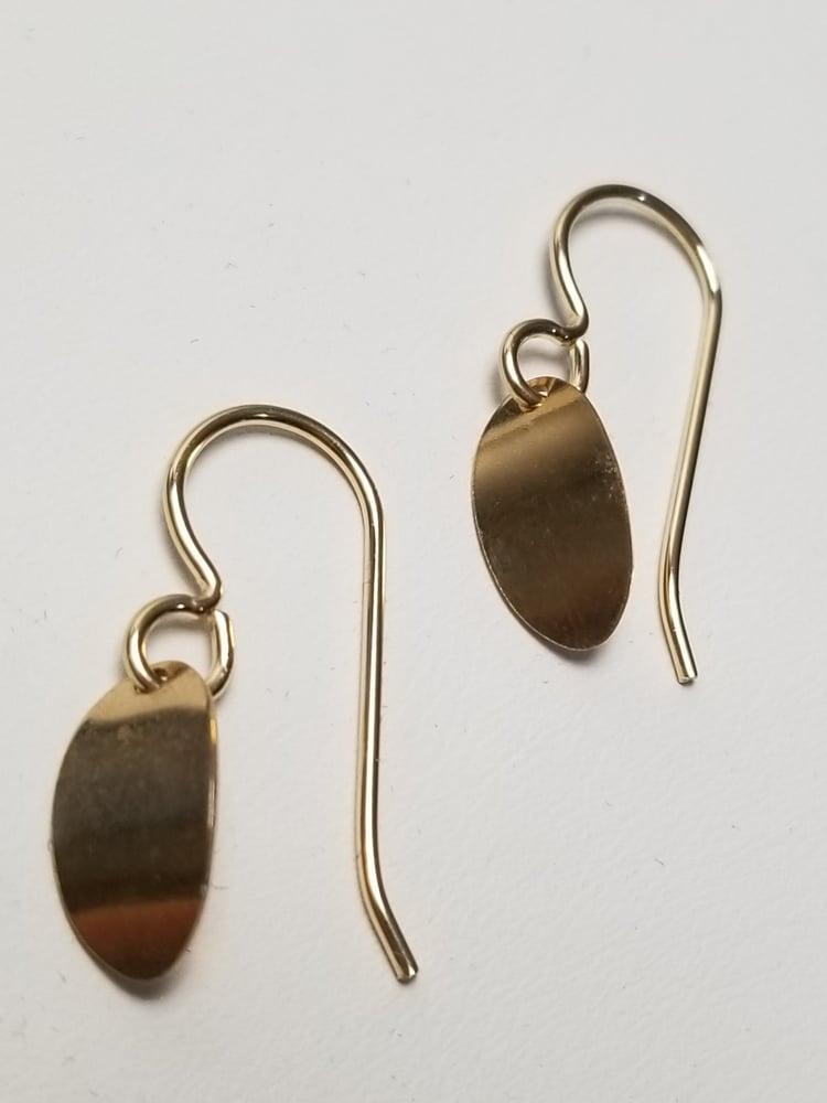 Image of petal earrings