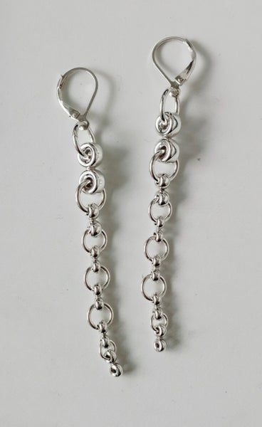 Image of snake earrings