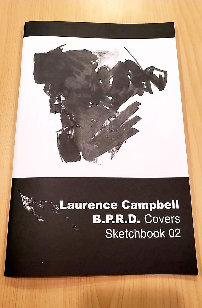 Image of Laurence Campbell /  B.P.R.D. Covers Sketchbook Volume 2