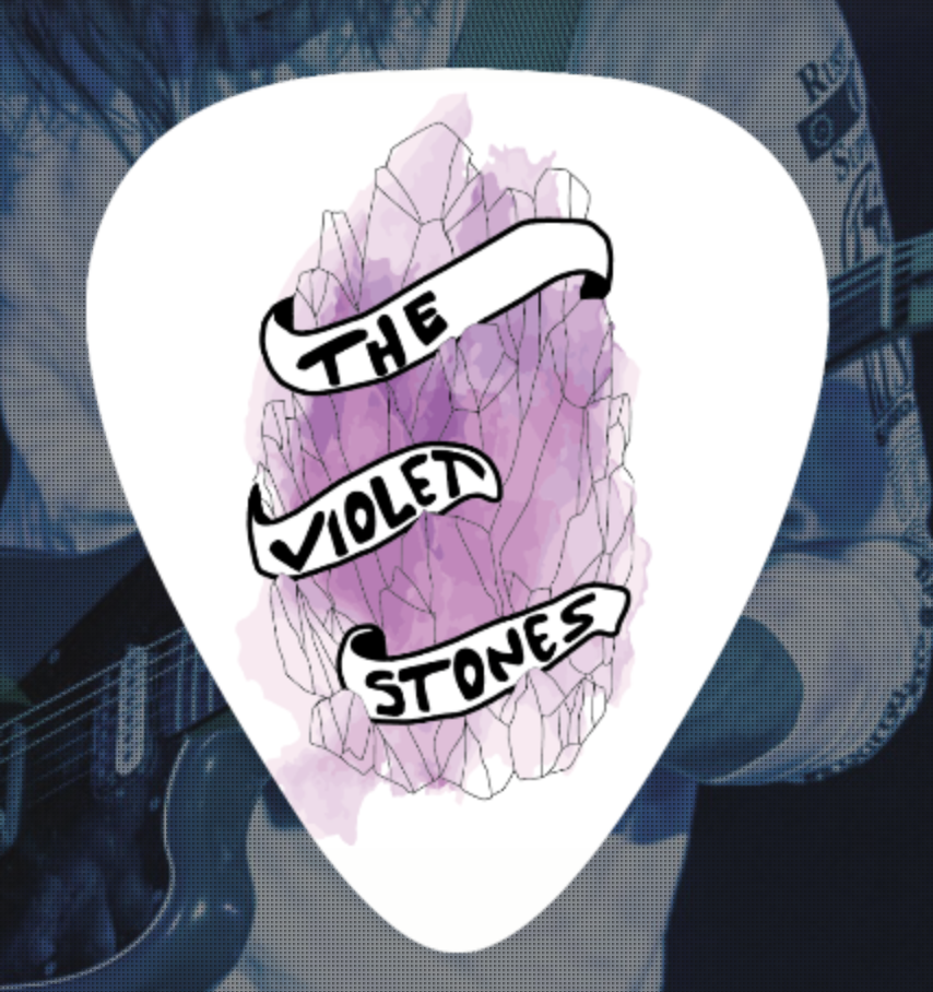 Image of The Violet Stones Guitar Pick