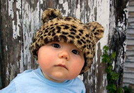 Image of Leopard Hat