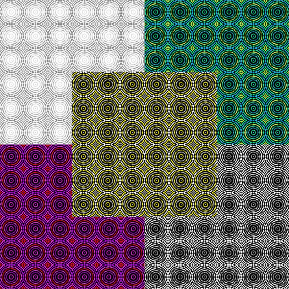 Image of Geo Pop Mosaic Dots By the Yard - Select Color