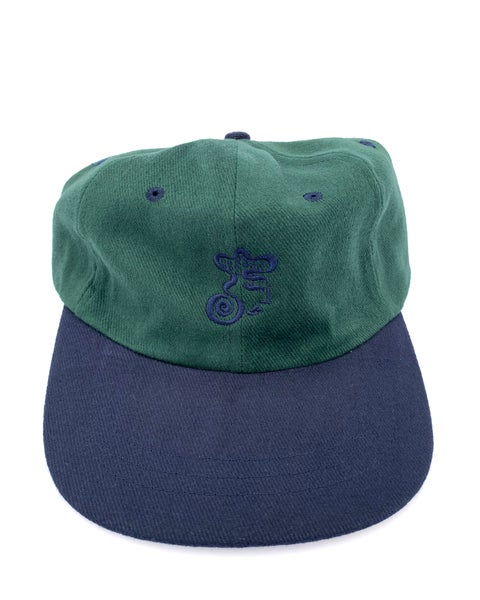 Image of Delaney Cap - Dark Green / Navy