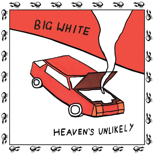 "Image of Big White ""Heaven's Unlikely"" 7"""