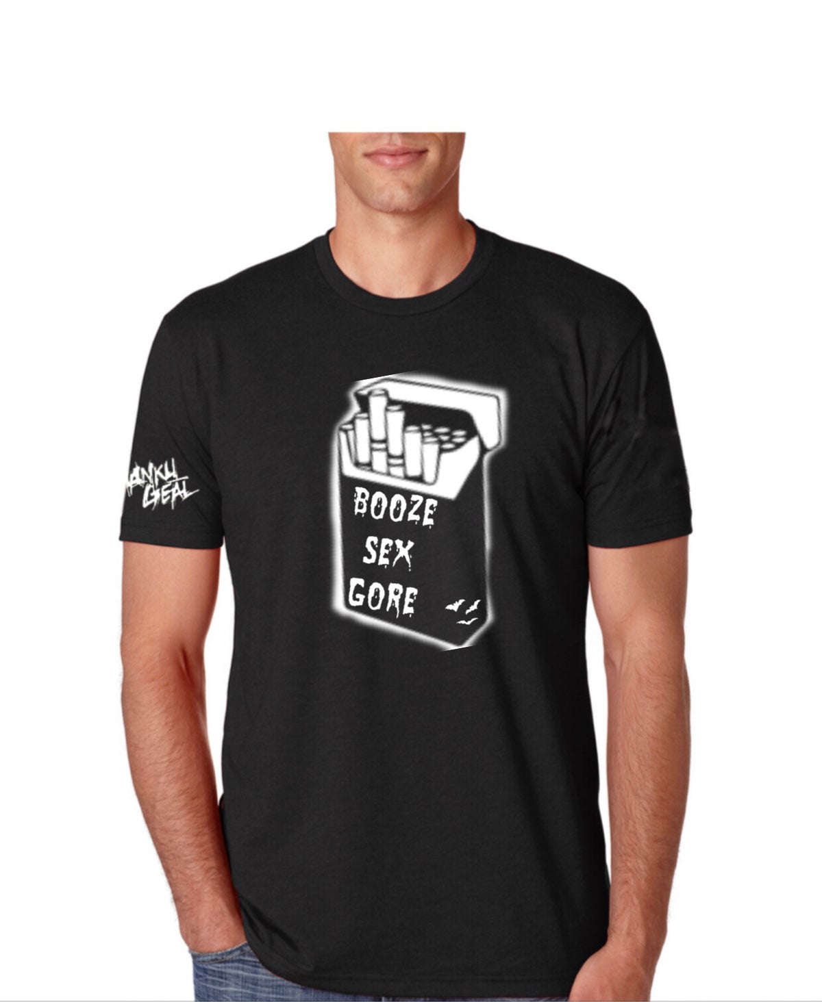 Image of Booze Sex Gore Men's Tee