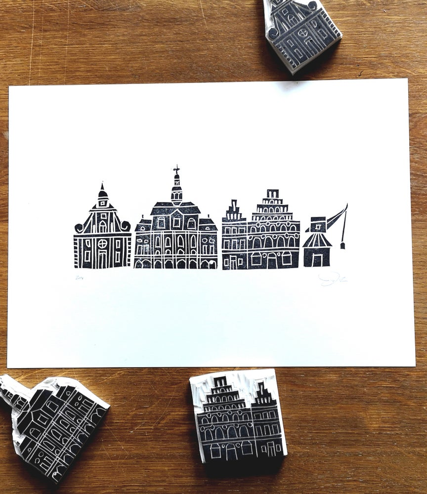 Image of Print: Lüneburg Houses